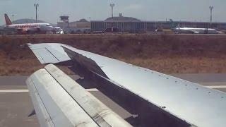 Olympic Airlines 737-400 SX-BKA Landing Heraklion Nikos Kazantzakis Airport