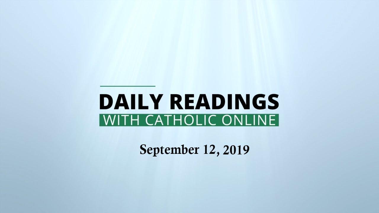 Daily Reading for Thursday, September 12th, 2019 - Bible
