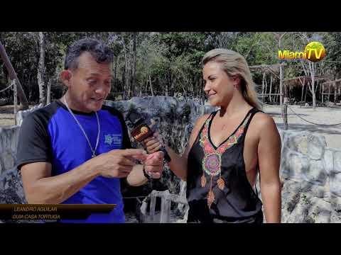 Jenny Scordamaglia @ Cenotes Casa Tortuga Tulum Episode 1 - Miami TV