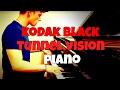 Kodak Black - Tunnel Vision | Tishler Piano Cover