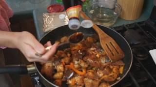 Thai Food - Spicy Catfish