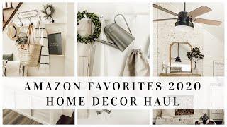 AMAZON FAVORITES 2020 | HOME ESSENTIALS | HOME DECOR HAUL | HOUSE + HOLM