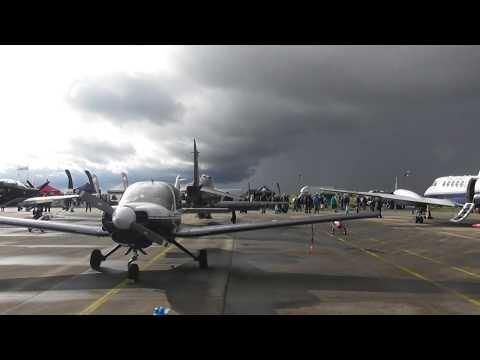 aviation  Scampton Airshow 2017 Scottish Aviation Bulldog Static display  9sep17 438p