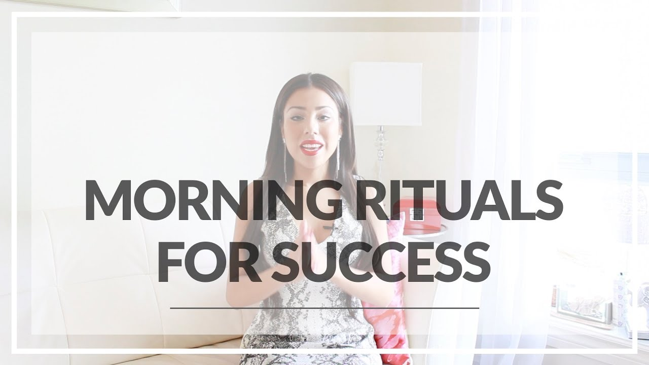 morning ritual project life mastery