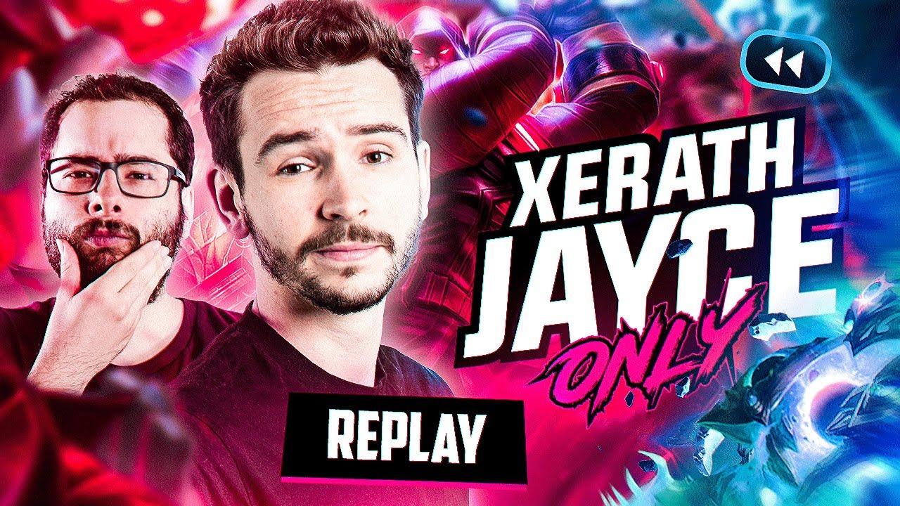 XERATH JAYCE ONLY ! ► League of Legends avec Xari
