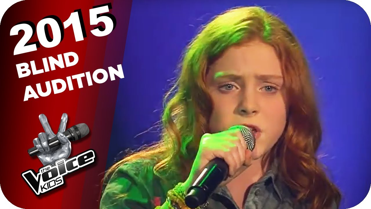 Tracy Chapman - Give Me One Reason (Amber) | The Voice Kids 2015 | Blind Auditions | SAT.1