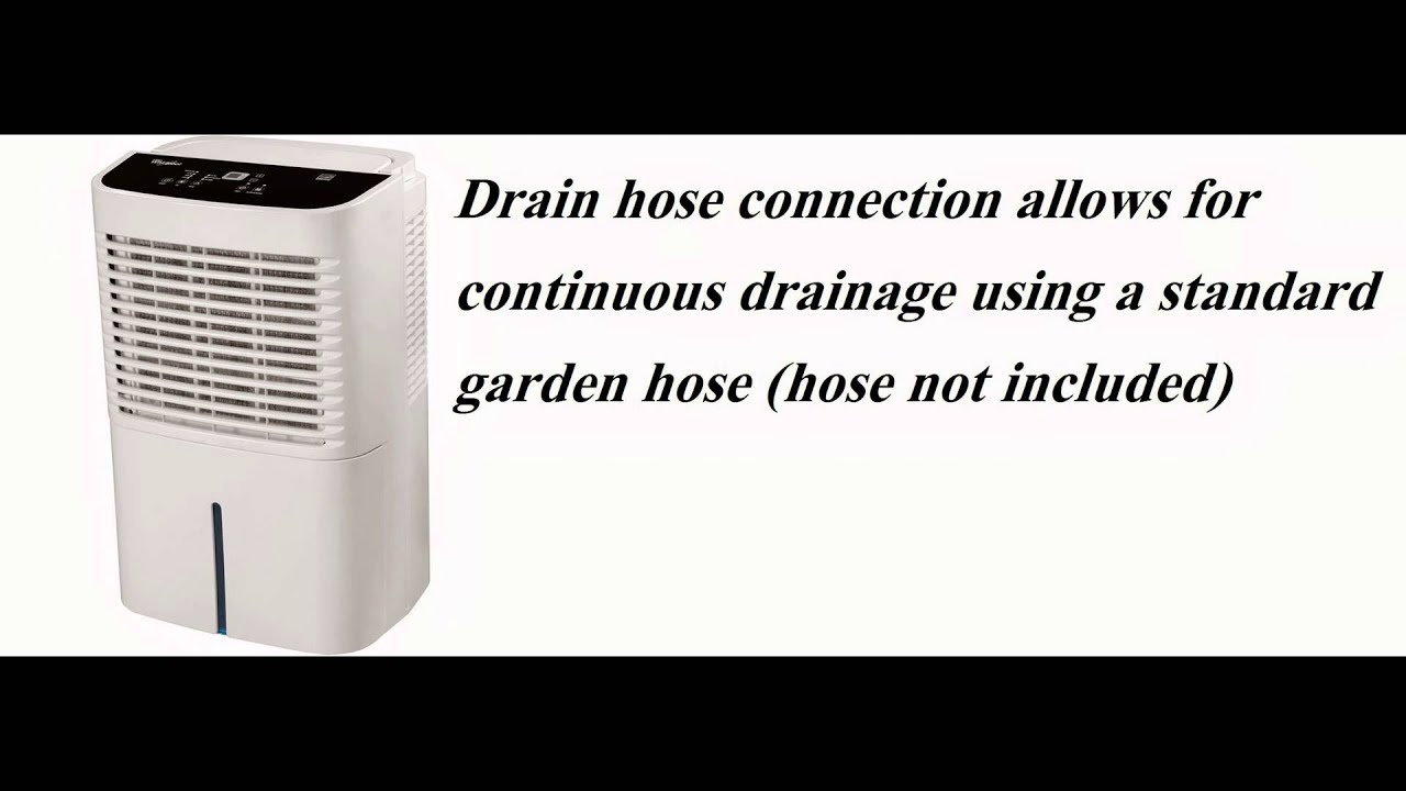 Whirlpool AD70GUSD Energy Star 70-Pint 2-Speed Dehumidifier Complete Review