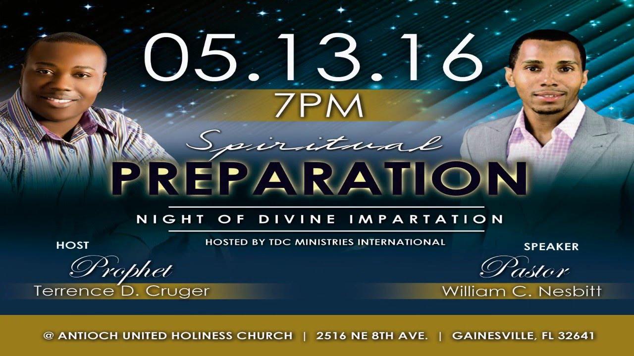 2016 Spiritual Preparation (Night of Divine Impartation) - AD