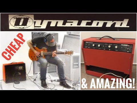 This CHEAP vintage Guitar Amp sounds like a Marshall JTM45 - Dynacord Amigo