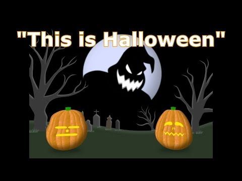 This is halloween song for kids