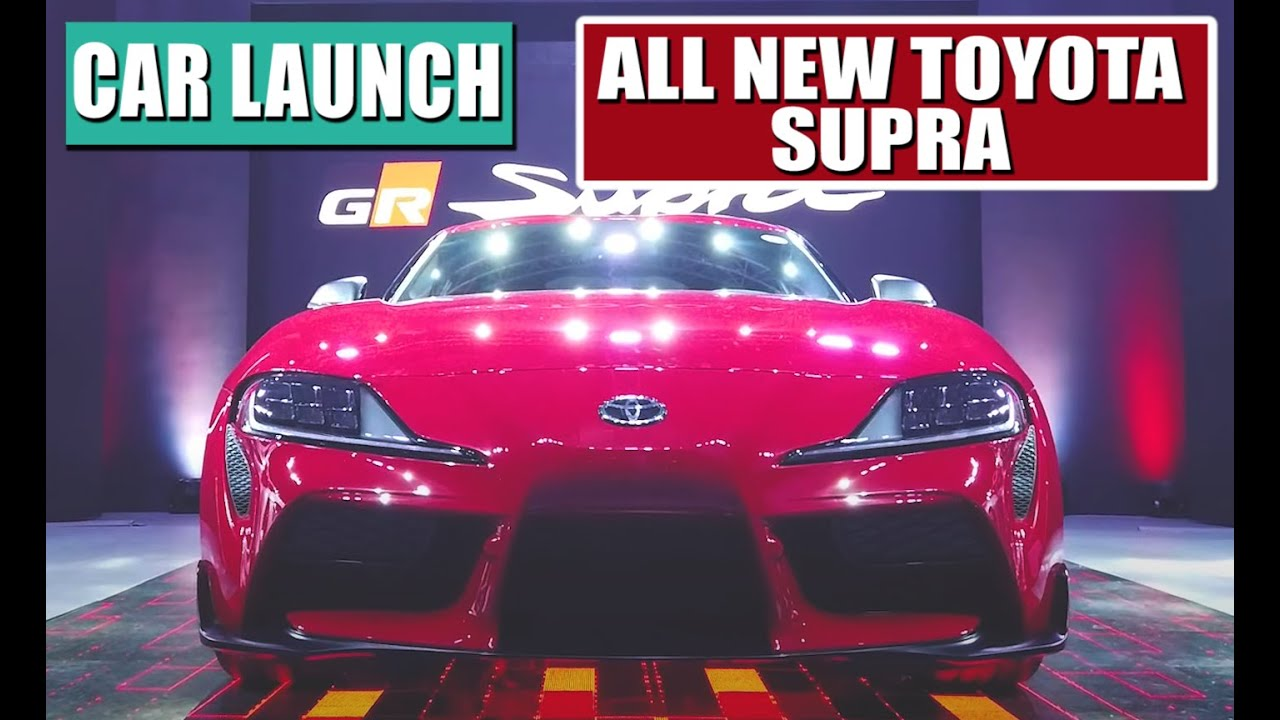 Launch of the all new 2019 Toyota Supra in Manila