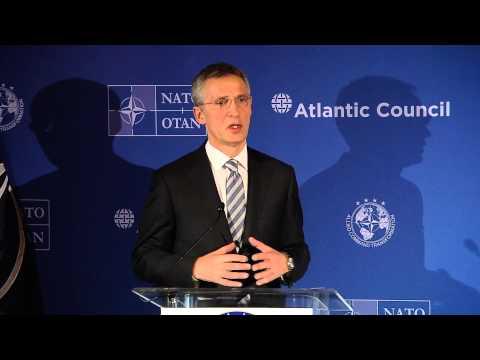 NATO Secretary General with Supreme Allied Commander Transformation, 25 MAR 2015