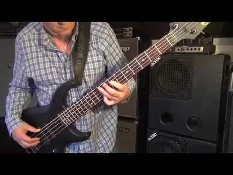 """Slither"" bass line - USA MTD Saratoga - Boogie Subway - Andy Irvine"