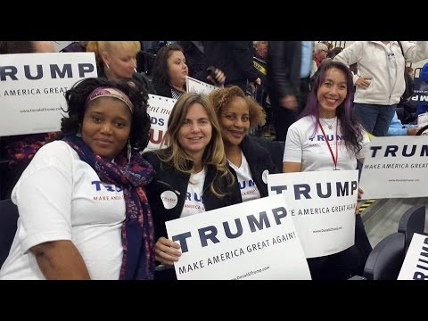 muslim single women in donald A muslim woman has been ejected from a donald trump rally after handing out pens inscribed  dating follow  muslim woman removed from donald trump rally 'for.