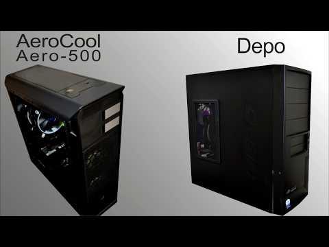 AeroCool Aero-500 WINDOW: сборка и тестирование