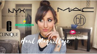 ❥  Haul Maquillaje y Cosmética | M·A·C, Clinique, Nyx, Make up Forever, Primor... ❥ thumbnail