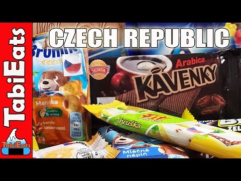Japanese Try Czech Republic Candy and Snacks