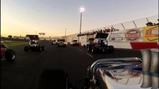 Roseville Vintage Supermodifieds Race