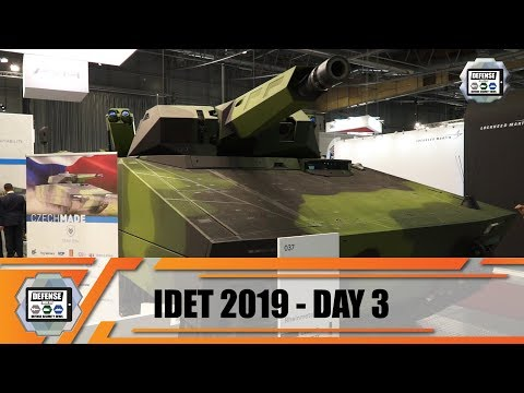 IDET 2019 International Defence and Security Technology Exhibition Czech Republic live demonstration