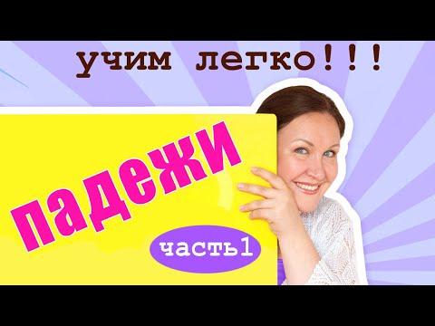 Видеоурок по русскому языку падежи 4 класс