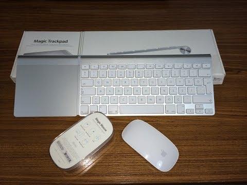 Apple Magic Trackpad, Magic Mouse Ve Wireless Keyboard Kutu Açılımı Ve İncelemesi