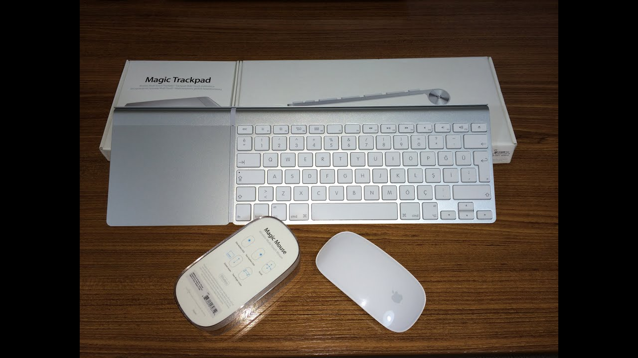apple magic trackpad magic mouse ve wireless keyboard kutu a l m ve ncelemesi youtube. Black Bedroom Furniture Sets. Home Design Ideas