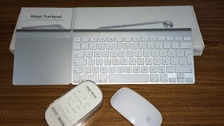 Apple Magic Trackpad, Magic Mouse ve Wireless Keyboard Kutu Açılımı ve İncelemesi