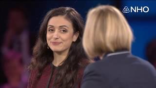 Politikerdebatt med Heidi Nordby Lunde, Høyre og Hadia Tajik, Arbeiderpartiet