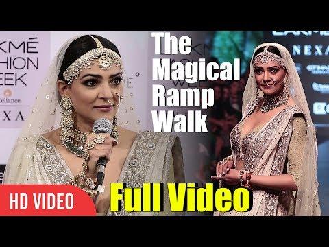 The Magical Ramp Walk | Sushmita Sen Full Video | Lakme Fashion Week 2018