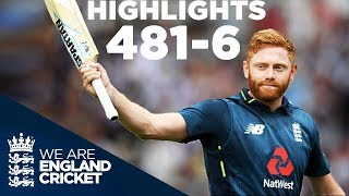 England Smash World Record 481-6 | England v Australia 3rd ODI 2018 - Highlights