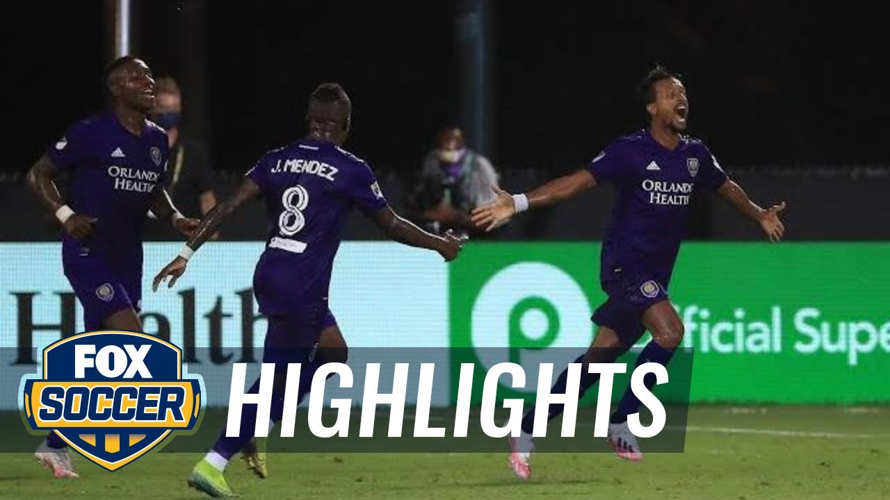 Orlando SC tops Inter Miami on last-minute goal in first match of MLS is Back | 2020 MLS Highlights