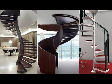 Circular Staircase | Curved Staircase | Spiral Staircases Design Ideas