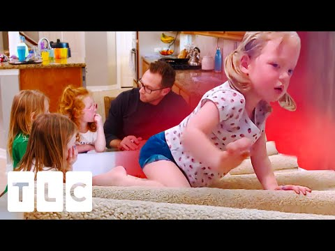 """""""That Really Is Smoke!"""" Dad Trains His Girls To Escape Fire 