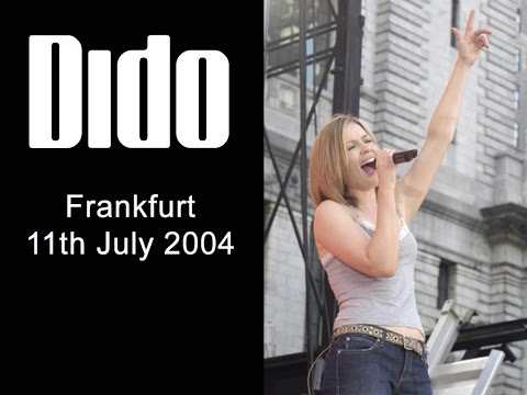 Dido - Live at Frankfurt Openair 11th July 2004