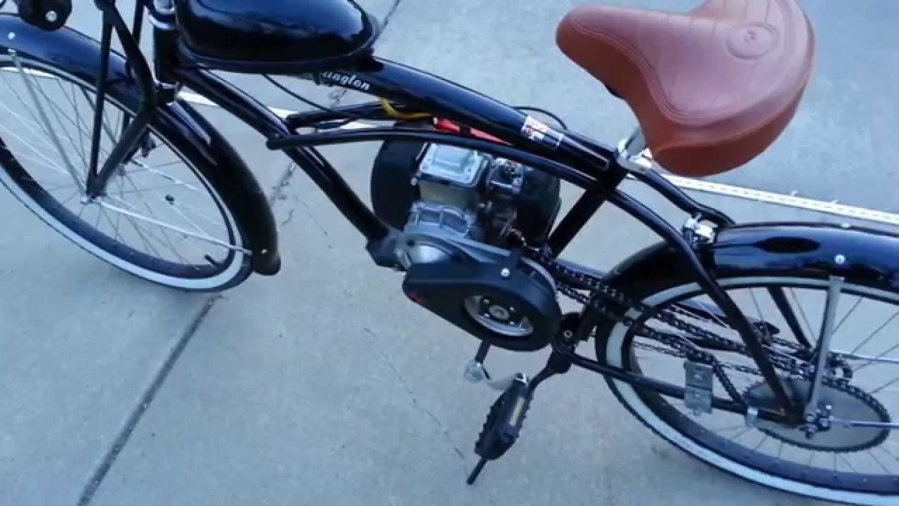 4 Stroke Motorized Bike (2 stroke VS 4 stroke) - YouTube