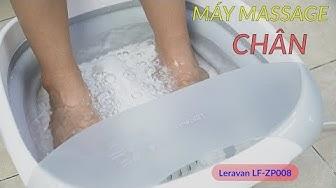 Máy Massage Chân Kết Hợp Nước Leravan LF ZP008 - Làm Nóng 43 Độ -Massage Đa Điểm - Tạo Bọt Bong Bóng