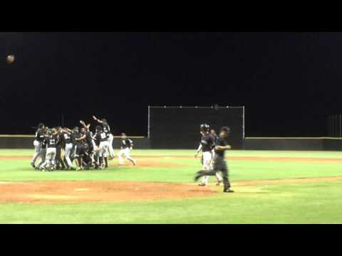 Final Out AZL White Sox Championship   Richard McWilliams pitching   922015