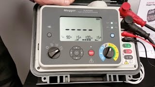 Megger DLRO100: How to do a test with the DLRO100