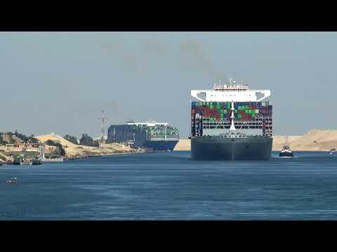 Suez Canal Transit 2019 (𝟒𝐊)