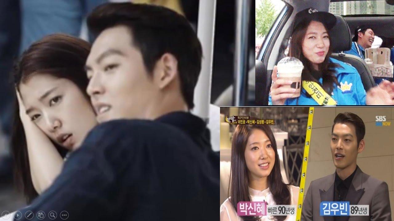 Park Shin Hye and Kim Woo Bin-The Real Way they Became ... Park Shin Hye And Kim Woo Bin Hug