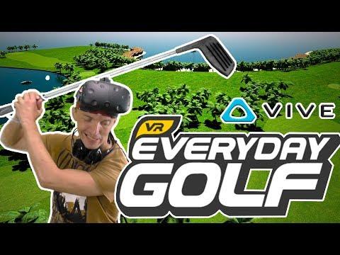 Гольф в виртуальной реальности на HTC VIVE или Everyday Golf VR