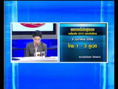 สนามบอลของไทยคู่เตะวันนี้ #KNation