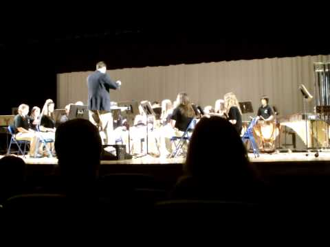 Elkins Middle School 8th Grade Band @ Band Festival #1