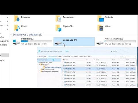 Recuperar Archivos Borrados O Dañados De Memoria USB  O Disco Duro 2020
