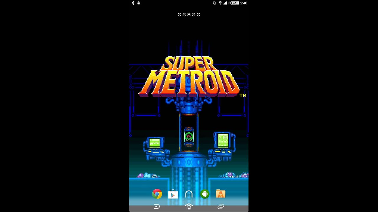Photo Collection Super Metroid Live Wallpaper