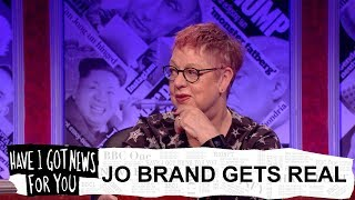 Jo Brand on sexual harassment and feminism - Have I Got News For You: Series 54 - BBC One