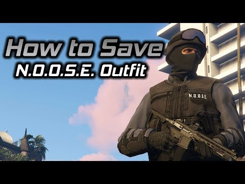 GTA Online: How to Save N.O.O.S.E. Outfit, All Platforms, No Transfers Required