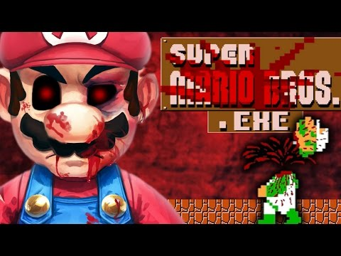 MARIO.EXE - THE BEST EXE GAME EVER? [SUPER MARIO HORROR GAME]