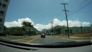 Driving from Kahului to Wailuku, Maui HI カフルイからワイルクへのドライブ DMC-GH1