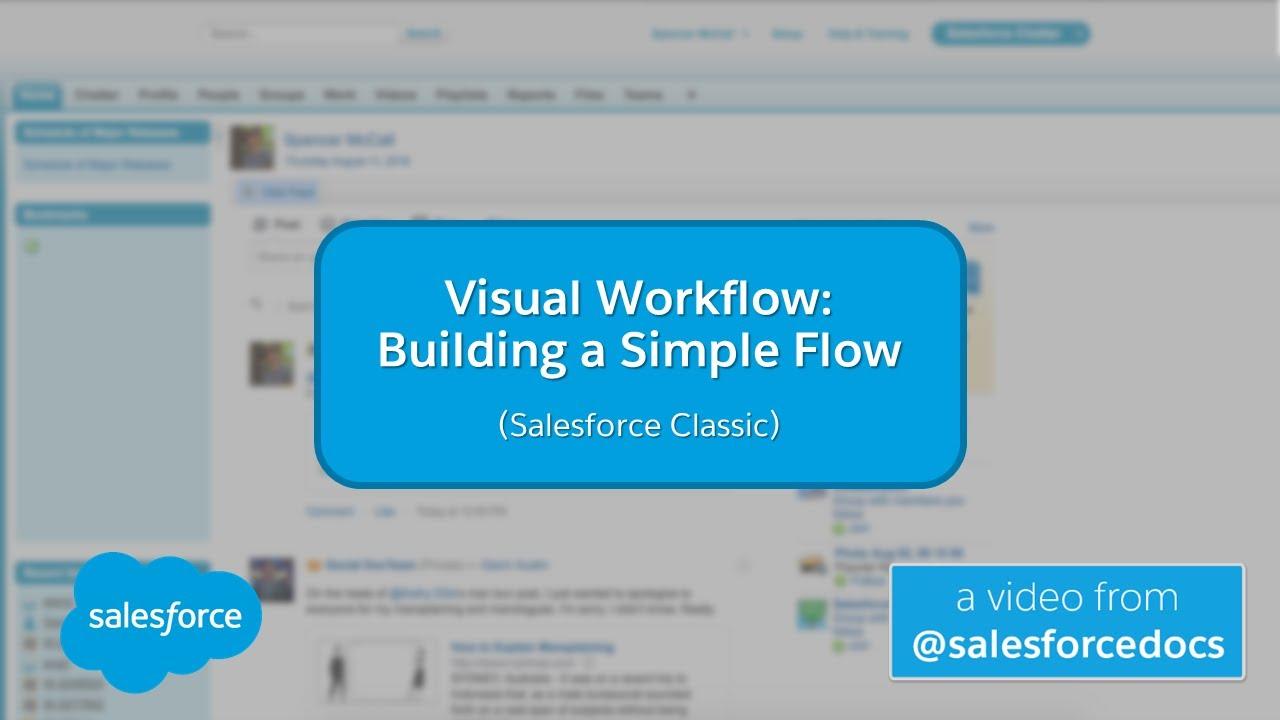 Visual Workflow: Building a Simple Flow